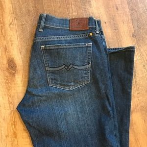 Lucky brand Sweet n Low Ankle Jeans sz 6/28